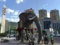 大型机械大象模型暖场道具出租价格