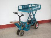 花卉升降车——潍坊哪里有供应优惠的平板车