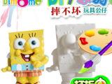 陶瓷彩绘diy玩具 彩绘玩具 彩绘颜料 陶瓷 石膏彩绘模具 工厂