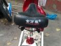 五羊本田电动车新款红白色小踏板