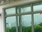 玻璃贴膜办公室磨砂膜背景形象墙制作上门服务