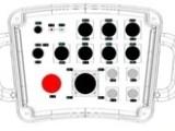 帝淮12路双向液压缸PLC无线控制器说明