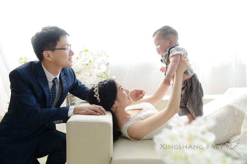 宝宝照,亲子婚纱照