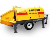 中山西区60.80.90高压地泵,拖泵混凝土输送泵车出租出售