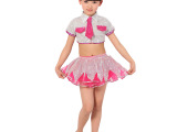 六一儿童演出服 演出舞蹈 拉丁舞蹈演出服 女童亮片纱裙舞蹈服装