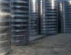 镇江伟邦不锈钢圆柱形保温水箱
