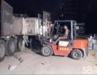 郑州专业叉车出租吊车出租24小时出租昼夜服务