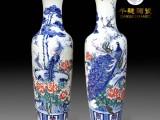 订购一对礼品瓷器大花瓶价格是多少 景德镇千穗陶瓷大花瓶批发