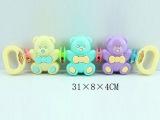 婴儿摇铃组合3件套 婴儿玩具 手拉玩具 智力玩具 拉力玩具