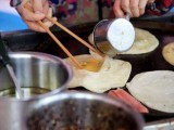 学习特色鸡蛋灌饼小吃-实践教学