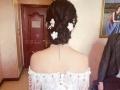 新娘早妆跟妆,用心服务,妆面精美,价钱美丽,