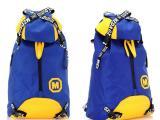 2014新款 女士潮酷韩版风范双肩背包 休闲运动包 街头旅行包