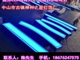 神州之星弧形LED地砖灯 长条LED地砖灯 广场地砖灯