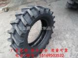 销售9.5-20拖拉机轮胎 农用人字花纹轮胎
