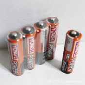 厂家直销 5号普通干电池 玩具电池 碱性电池 学习机电池 黄色