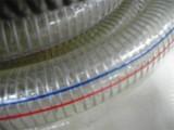 木工机械专用除尘通风管 透明钢丝缠绕风管PU钢丝伸缩管