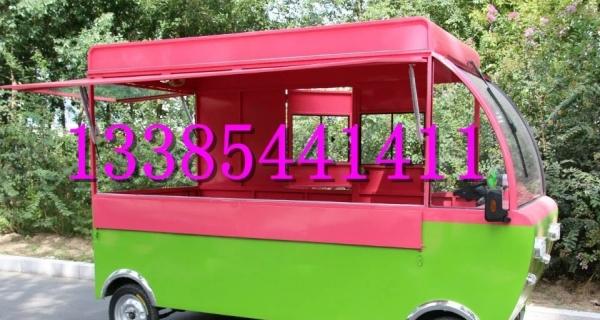 亿康餐车多功能移动车小吃车电动餐车电动早餐房车移动商铺油电两