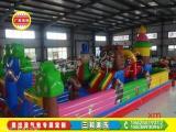 熊出没气包游乐设备,厂家批发价格,儿童游乐设备充气城堡
