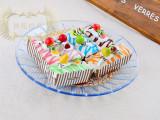 现货小额批发 仿真长方形纸盒 PU仿真水果蛋糕  食品摄影道具