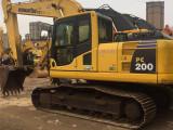 太原二手挖掘机小松200-8原装出售沃尔沃二手挖掘机