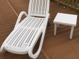 户外花园阳台折叠躺椅优质休闲躺椅室内外泳池馆躺椅