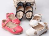2014新款韩国童鞋 儿童秋季真皮公主童单鞋 品牌宝宝鞋 厂家批