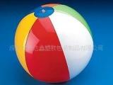供应6色6片沙滩球PVC玩具球(可印刷L