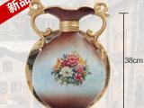 陶瓷花瓶摆件 欧式家居创意装饰品插花器 复古摆设送礼厂家促销