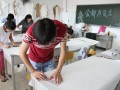 业余服装裁剪 工艺班开学了