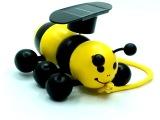 【厂家直销】太阳能玩具小蜜蜂,玩具,木制玩具,太阳能礼品