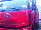 低价出售东风天龙、解放J6高栏货车9.6米 可按揭手续齐全!5年6万公里12.6万