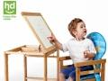 小龙哈比多功能实木幼儿餐椅