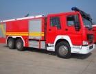 重汽豪沃ZZ型水罐泡沫联用消防车