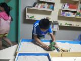 在作文教学时,沙盘游戏配合教材里的主题来进行福建泉州加盟