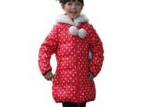 笛莎巴拉同款品牌童装女童正品冬装2012新款儿童中长款保暖羽绒服