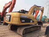 周口二手挖掘机卡特320小松200220出售日立二手挖掘机
