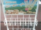 低价销售铁线奶茶架 超市货侧挂架 娃哈哈饮料展示架 挂架