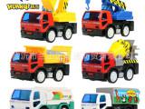 环奇907 6款仿真工程车 强劲惯性动力 儿童惯性玩具车模 0.