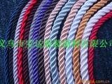 现货供应彩色三股绳 优质编织绳 8股棉绳彩色 礼品盒手提绳
