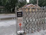 捷鷹科技為金堂第二小學安裝電動伸縮門