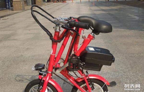 12寸折叠电动车电动自行车锂电车电瓶车 便携迷你型
