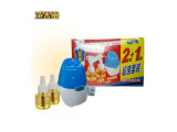 中山灭害灵蚊香液无香型2+1优惠套装 孕妇宝宝婴儿电热蚊香驱蚊液
