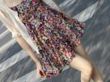 2014时尚孕妇装夏装新款韩版宽松孕妇裙沙滩裙孕妇吊带孕妇连衣裙