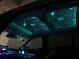 深圳改装汽车顶棚天窗贴膜七彩控制个性化定制