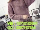 韩版加厚针织衫毛衣厂家直销地摊甩卖女式针织衫批发市场5元毛衣