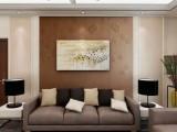 软包孔雀刺绣硬包背景墙 壁画皮革le