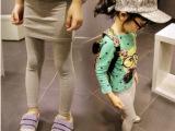 卡哇伊童装批发C2014新款童装打底裤 韩版纯棉紧身包臀裙裤