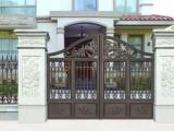 供应成都自建轻钢别墅铝艺大门栏杆