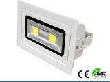 LED天花灯射灯背景墙灯服装店射灯长方形格栅筒灯0W瓦