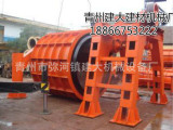 建大牌2.5米悬辊机价格 悬辊水泥管模具厂家 喂料机供应